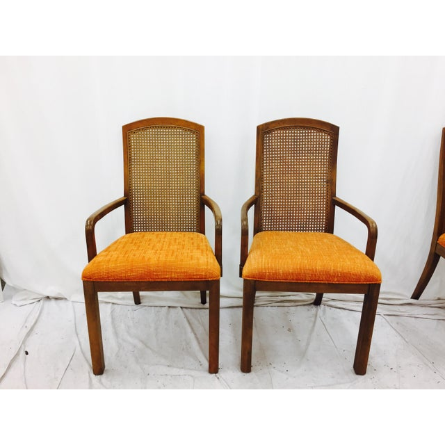 Vintage Dixie Mid-Century Dining Chairs - Set of 6 - Image 9 of 11