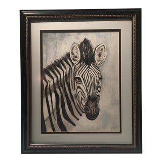 Mary Thompson Zebra Water Color