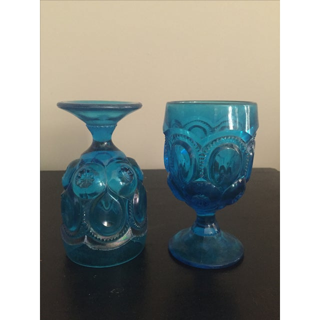 Aqua Kings Crown Glasses - Set of 12 - Image 8 of 8