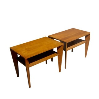 Russel Wright for Conant Ball Side Tables - Pair