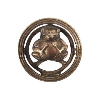 Brass Frog Door Knocker
