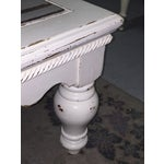 Image of Vintage French Provincial White Coffee Table