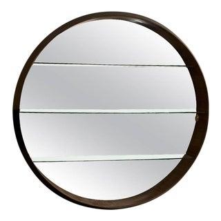 Custom Mid-Century Bar Mirror Created for an Italian Yacht