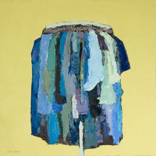 Clothing Rack Abstract Oil Painting