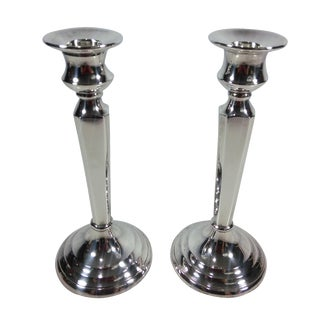Restoration Hardware Candlesticks - A Pair