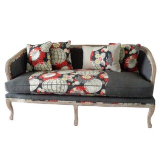 French Style Sofa in Gray