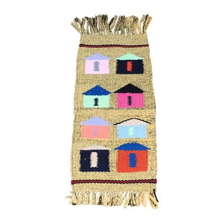 Little Village Multicolored Handwoven Rug