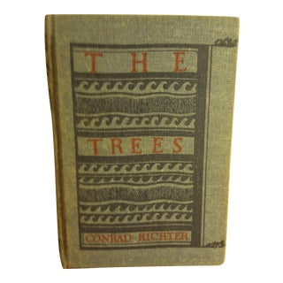 "Conrad Richter ""The Trees"" 1940 First Edition book"