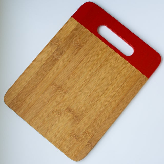 Image of Red Bamboo Cutting Board