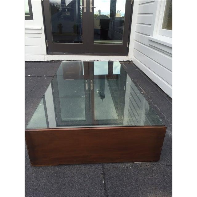 Mahogany & Glass Coffee Table - Image 6 of 6