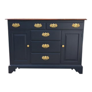 Midnight Blue Buffet Server