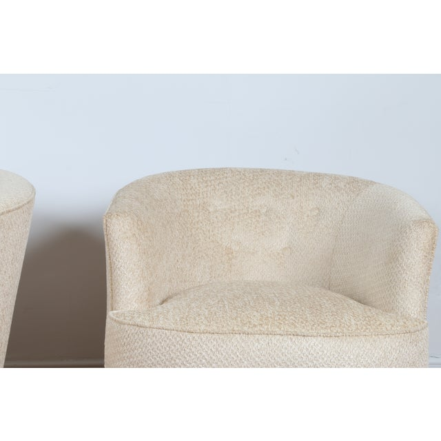 Swivel Vintage Beautiful Chairs - Pair - Image 4 of 10