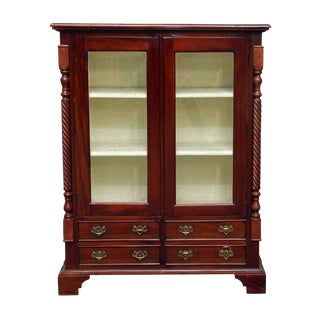 American Dining Room Cabinet With Three Shelves