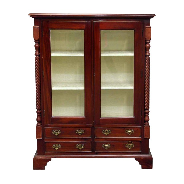 American Dining Room Cabinet With Three Shelves - Image 1 of 10