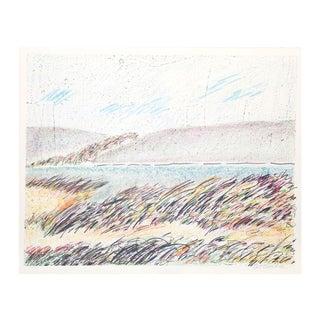 "Sybil Kleinrock ""Seascape"" Lithograph"