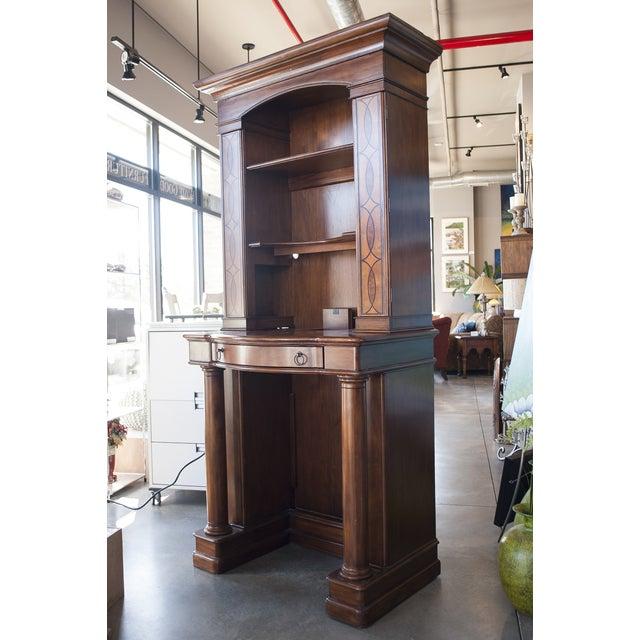 Sligh Maple Two-Piece Desk - Image 3 of 10