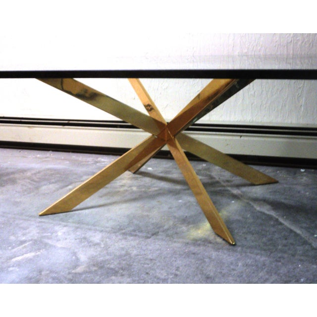 Pace Collection Double X Coffee Table Base - Image 4 of 11