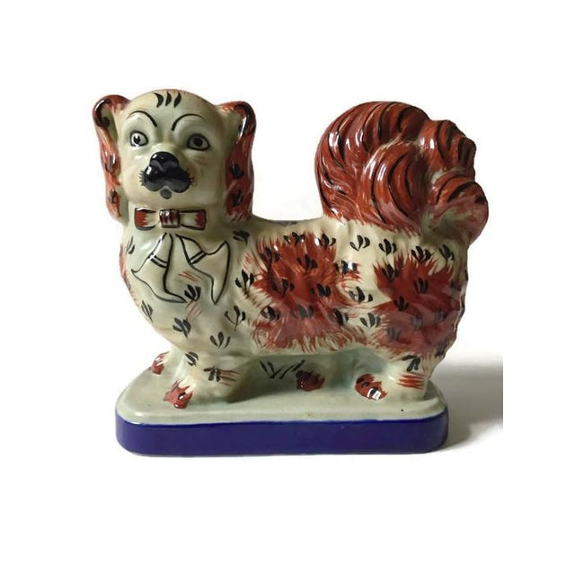 Vintage Tibetan Chinese Imperial Dogs - A Pair - Image 6 of 6