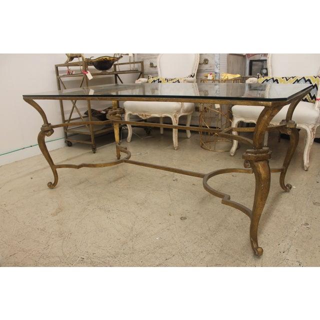 Custom Brass Coffee Table: Custom Built Metal Coffee Table