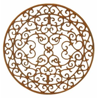 Spanish Round Iron Window Grill