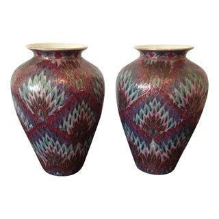 Chinese Toyo Vases - A Pair