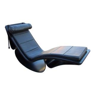 "Original Vintage ""Rio"" Rocking Chaise by Oscar Niemeyer"
