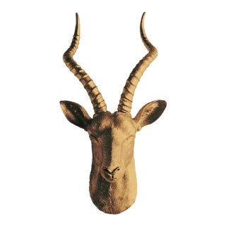 Antelope Head by Wall Charmers Animal Mount Art