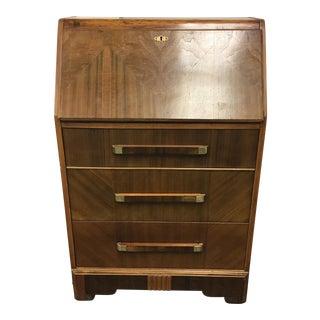 Art Deco 3-Drawer Secretary