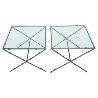 Hollywood Regency Accent Tables - A Pair
