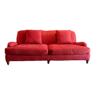 Crate & Barrel Fabric Sofa
