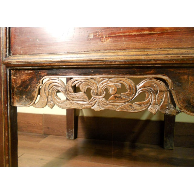 """Antique Ming """"Butterfly"""" Coffer, Camphor Wood - Image 4 of 9"""