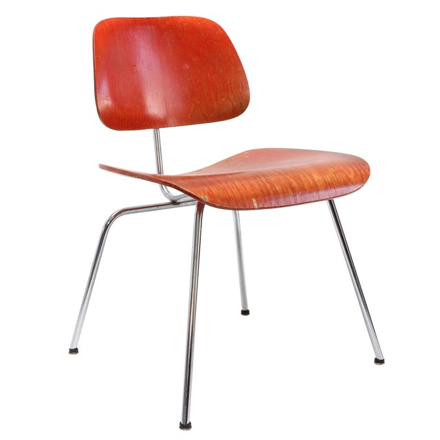 Image of Herman Miller DCM Chair Red Aniline