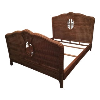 Ralph Lauren Wicker Queen Bed