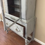 Image of Vintage China Cabinet or Hutch