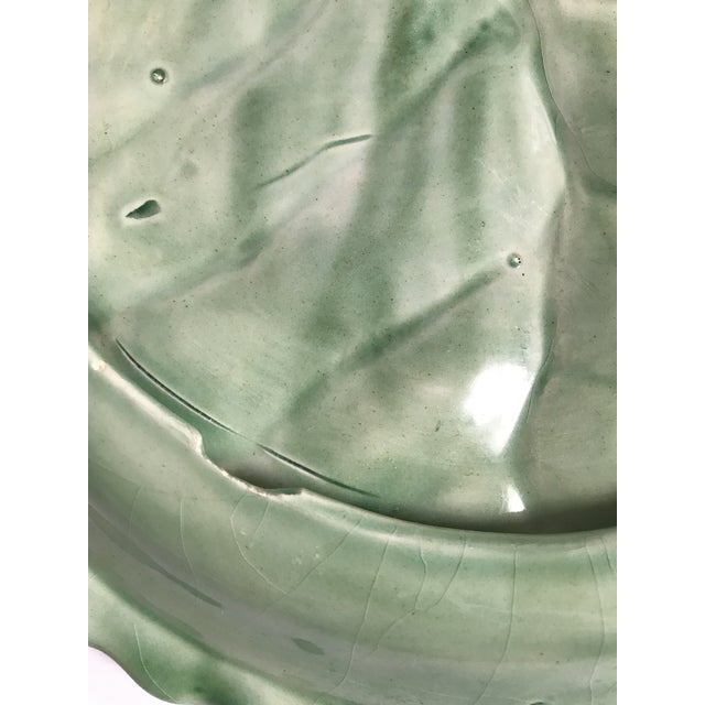 Cabbage Leaf Serving Plate - Image 6 of 8