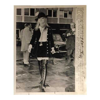 1968 Vintage Brigitte Bardot Press Photo