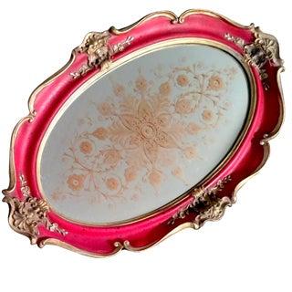 Victorian Mirrored Vanity Tray