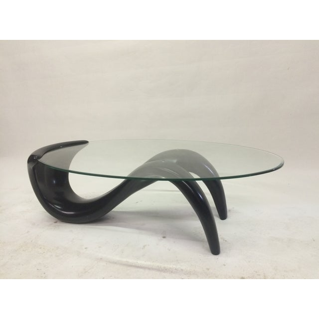 Biomorphic 1980s Coffee Table - Image 5 of 5