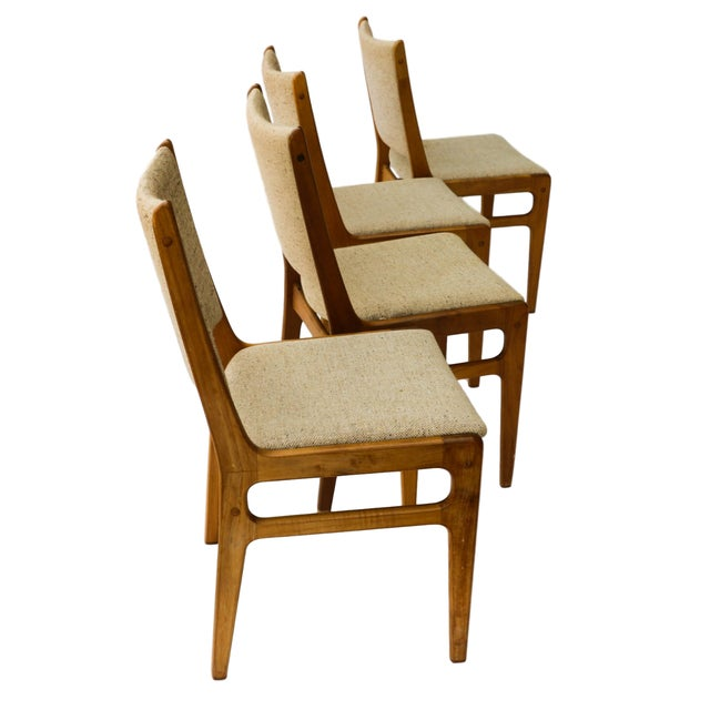 Vintage D-Scan Danish Teak Chairs - Set of 4 - Image 3 of 10
