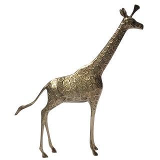 Brass Giraffe - Large