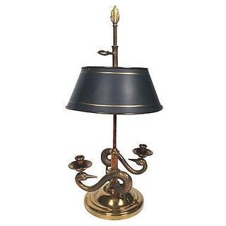 Swan Bouillotte Lamp