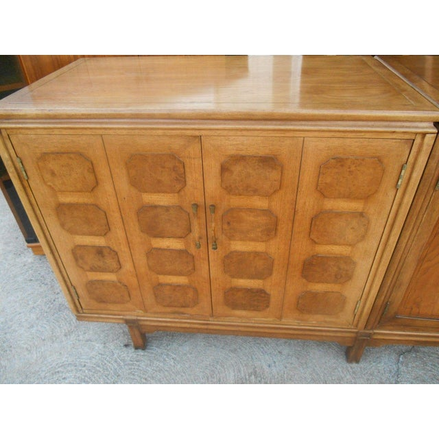 MCM Thomasville Floating Dual Credenza - Image 4 of 6