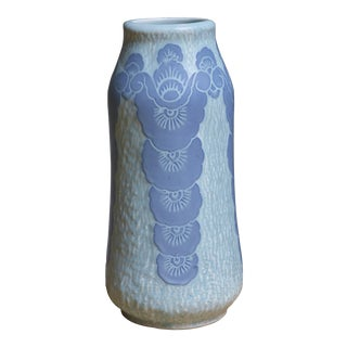 Josef Ekberg Ceramic 'Sgraffito' Vase for Gustavsberg, Sweden, 1920
