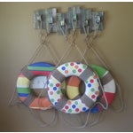 Image of Three Beach Life Rings with Wall Display Rack