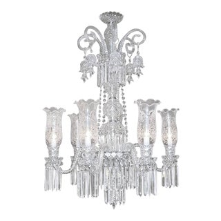 Baccarat Style Bohemian Crystal Chandelier