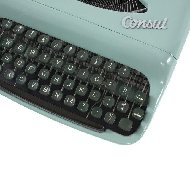 Image of 1960s Consul Comet Typewriter