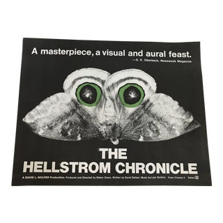"""The Hellstrom Chronicle"" Vintage Lobby Poster"
