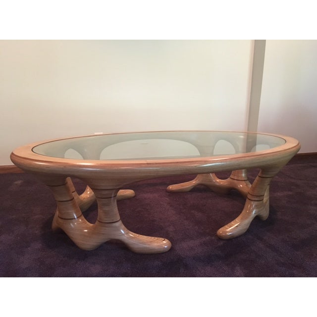 Image of 1985 Baltic Birch Coffee Table by Carl Gromoll