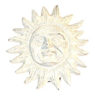 Vintage Ivory Smiling Sun Door Knocker