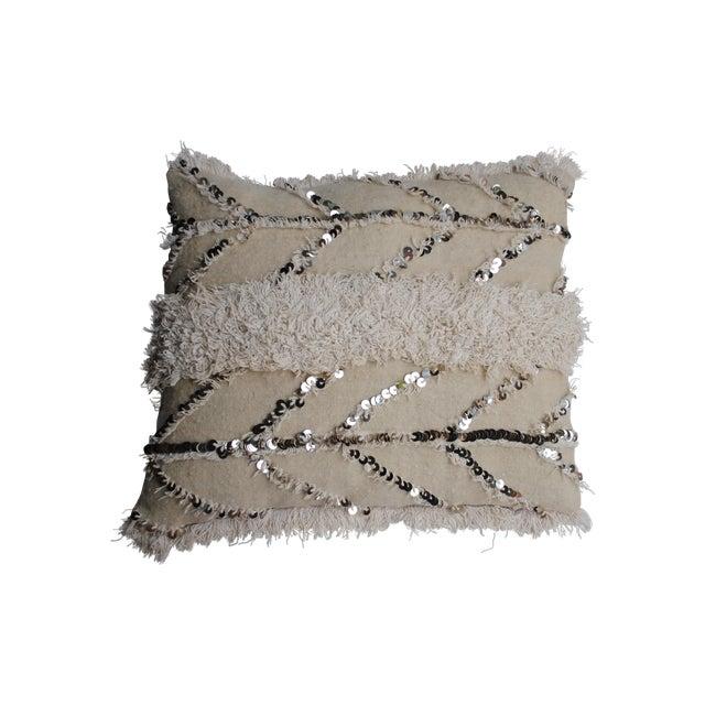 Fishbone Handira Pillow Sham - Image 1 of 3